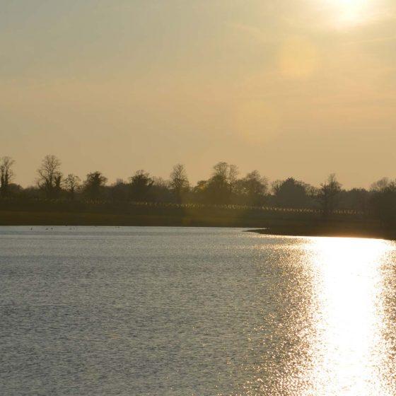Sunset at St Martins Lake