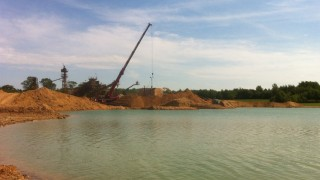 Sand and gravel was extracted from the quarry and used for projects included the A14 improvements and the runways at both Stansted Airport and Mildenhall Air Base